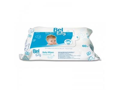 Vlhké ubrousky pro jemnou péči o vaše miminko