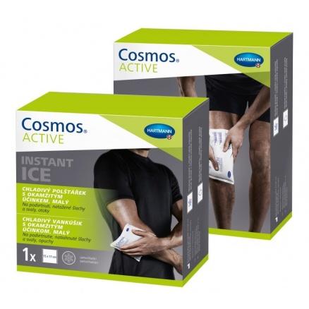 Chladivé gelové polštářky COSMOS Active ve dvou velikostech
