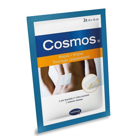 Hřejivá náplast Cosmos 10 × 16 cm 2 ks