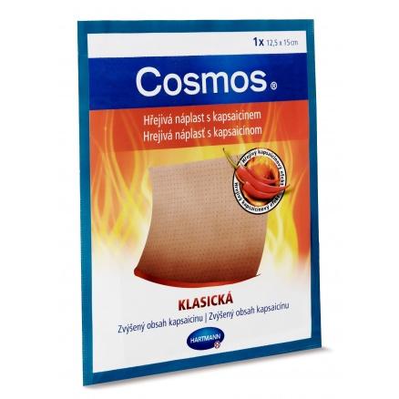 Hřejivá náplast s kapsaicinem Cosmos klasická 12,5 × 15 cm 1 ks