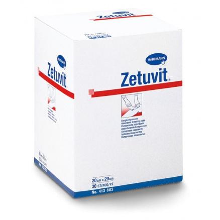 Sterilní kompres Zetuvit na rány 20 × 20 cm 30 ks