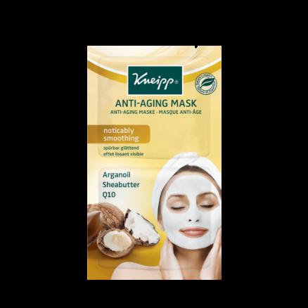 Pleťová maska Kneipp Anti-Aging s přírodním arganovým olejem