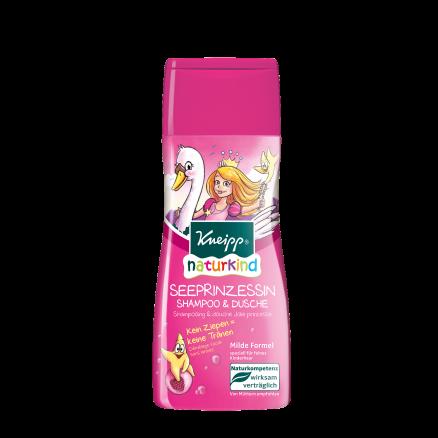 Šampon a sprchový gel Kneipp Mořská princezna s vůní malin 200 ml