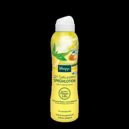 Tělové mléko Kneipp Jemné tělo ve vteřine s avokádovým máslem a olejem z citrusové verbeny