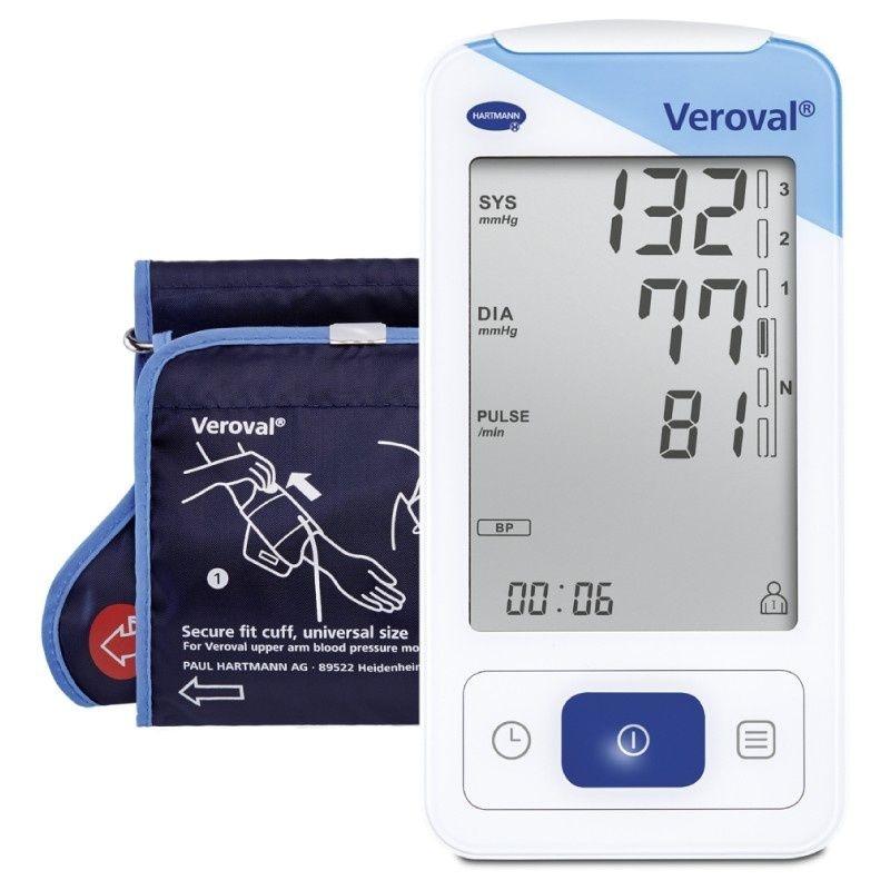 39272b853 Osobní tlakoměr Veroval® s EKG | LékárnaHARTMANN